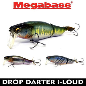 Megabass PROP DARTER i-LOUD FLOATING JAPAN TOP WATER FISHING LURE BAIT 103 mm