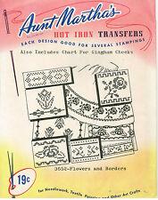 Flowers & Borders ~Retired~ Aunt Martha's Transfer
