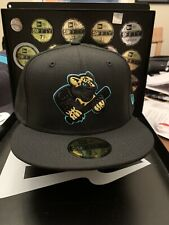 "Greensboro Grasshoppers MiLB New Era 59Fifty ""2019 MiLB Copa Blk Out Collection"""
