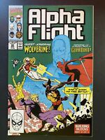 Marvel Comics Alpha Fight #90 1990 Appearance by Wolverine Jim Lee Cover