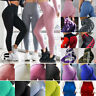 Women Yoga Pants Fitness Leggings Running Jogging Gym Exercise Sports Trousers G