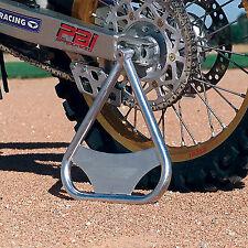 Fly Racing Tri Stand Motocross MX Dirt Bike Triangle CR KX RM YZ Silver Aluminum
