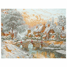 Anchor Counted Cross Stitch Kit Maia Collection: Cobblestone Christmas: Gift