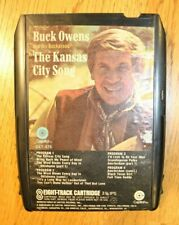 Buck Owens 8 track Tape Working Tested The Kansas City Song Country