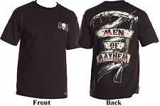 Metal Mulisha Sons Of Anarchy Men Of Mayhem Grim Reaper Scythe T-Shirt S-L