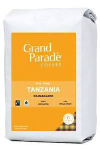 Fresh Green Coffee Beans, 5 lbs Tanzania AA Kilimanjaro Specialty Raw, Unroasted