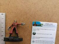 Nr 001 STAR-LORD   /MINIATURE+ CARD / MARVEL HEROCLIX