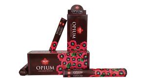 IBCO Opium Hexa Incense Sticks, 20 Sticks per pack (6 packs) =120 sticks