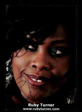 Ruby Turner Foto Original Signiert  ## BC 109967