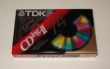 TDK CDing-II 74 min. BLANK AUDIO CASSETTE TAPE - BRAND NEW & FACTORY SEALED