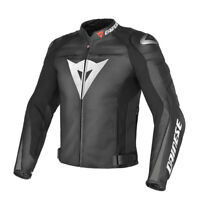 DAINESE Jacket Leather SUPER SPEED C2 black /ANTHRACITE 56