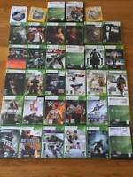 XBOX 360 Games Lot Used -Good