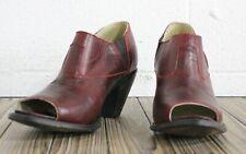 FM 1101 by Lane Boots Plain Maya Women's Western Cowgirl Mule Size 9.5