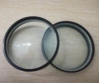 Diameter 100mm Optical Glass Focal Length -300mm Double Concave Glass Lens 2PCS