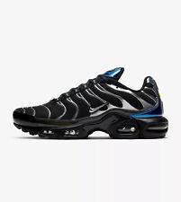 NIKE AIR MAX PLUS TN TUNED - BLACK, BLUE, GREY - CW2646 001 - UK 8, 9, 10, 11