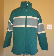 Men's Aeropostale Winter Green Striped Jacket w/Detachable Liner in size XS