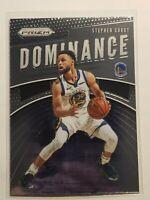 Stephen Curry 19-20 Panini Prizm Dominance Insert #24 Golden State Warriors NBA