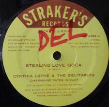 "CYNTHIA LAYNE & EQUITABLES - Stealing Love ~ 12"" Single US PRESS"