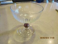 8 Luminarc USA Champagne Wine Glass 12.25oz Ice Cream Dessert Bowl GREETINGS NIB