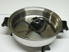 Saladmaster Electric Skillet No. 7817 Tested and Working No Lid