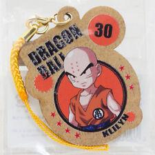 Dragon Ball Z Krillin Wooden Mascot Charm Strap JAPAN ANIME MANGA