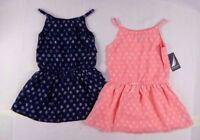Nautica Girls Chiffon Printed Dress with Tier sizes 2,3,4