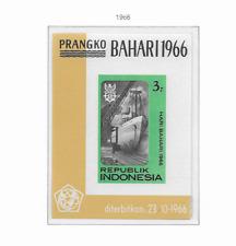 1966 MNH Indonesia Michel block 6