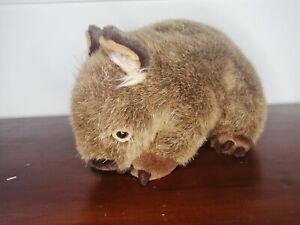 """Minkplush wombat """"Russell"""" ultra high quality stuffed Australian plush toy"""