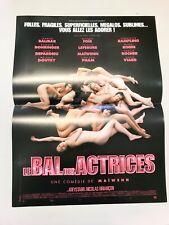 LE BAL DES ACTRICES Affiche cinéma 40x60 MAÏWENN, JOEY STARR, BOHRINGER, FOÏS