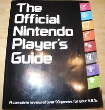 1987 Official Nintendo Player's Guide w/STICKERS! NES Zelda Mario Metroid Tyson