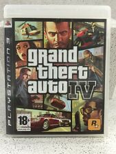 GRAND THEFT AUTO 4. JEUX PS3 AVEC NOTICE PLAYSTATION