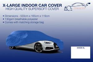 XL blue Indoor Car Cover Protector Chevrolet Silverado 2500 HD 2001-2016