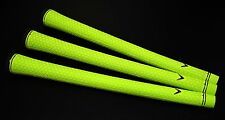 3 Callaway Golf Lamkin UTX Cord Acid Lime Green Mack Daddy Replacement Grip NEW!