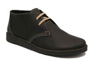Oxygen Stitch Down Desert Boot Bombay Black sizes 8 - 11 ( 42 - 45) RRP £69.00
