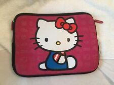 Hello Kitty Protective Tablet Ipad Reader Computer Case Soft Zip Up Neoprene