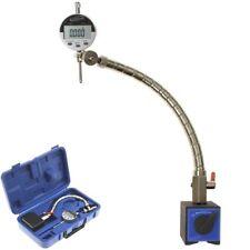 "Flexible Arm Magnetic Base Digital Indicator 1""/0.0005"" Machinist Engine Tools"