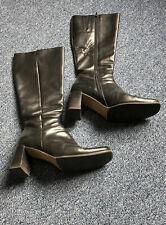 Vero Cuoio Echt Leder Stiefel Größe 38