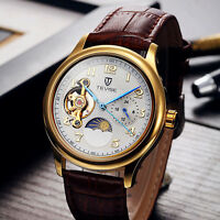 Tevise Tourbillon Gents Automatic Mechanical Watch Orologio Automatico Uomo