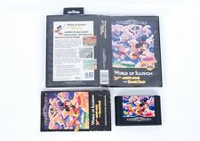 World Of Illusion Boxed - Sega Mega Drive Game Cartridge PAL