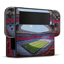 Nintendo Switch Folie Aufkleber Skin - Stadion FC Bayern - Color