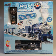 LIONEL FROSTY THE SNOWMAN LIONCHIEF REMOTE CONTROL O GAUGE TRAIN SET 6-81284 NEW