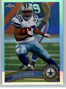 2011 Topps Chrome Refractor #43 Felix Jones - Dallas Cowboys
