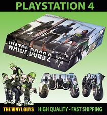 PS4 PIEL WATCH DOGS 2 002 Crane hacker MARCUS Pegatina + 2x Pad vinilo LAY