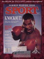 SPORT Magazine July 1988 MIKE TYSON MARGE SCHOTT STEVE TROUT CHRIS EVERT