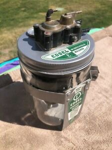 1958 Edsel Windshield Washer Jar and Pump Assembly