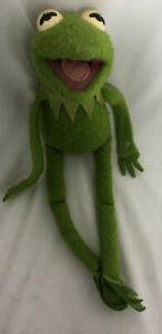 Vintage Kermit The Frog 850 Jim Henson Muppet Doll Fisher Price Plush Toy 1976