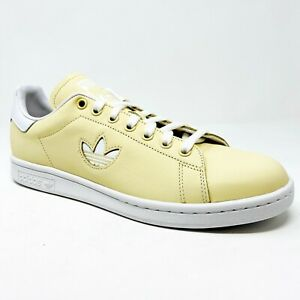 Adidas Originals Stan Smith Easy Pastel Yellow BD7438 Mens Tennis Shoes
