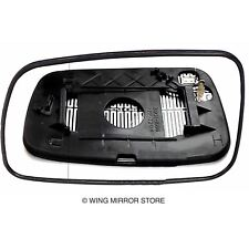 Left side for Toyota Yaris 1999-2005 Wide Angle heated wing door mirror glass