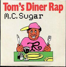 M.C. SUGAR - TOM'S DINER RAP - CARDBOARD SLEEVE CD MAXI