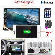 "Universal 2 Din 7"" Car DVD Head Unit Radio Stereo MP5 Player Bluetooth TF card"